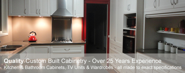 Quality Custom Built Cabinetry with over 25 years experience
